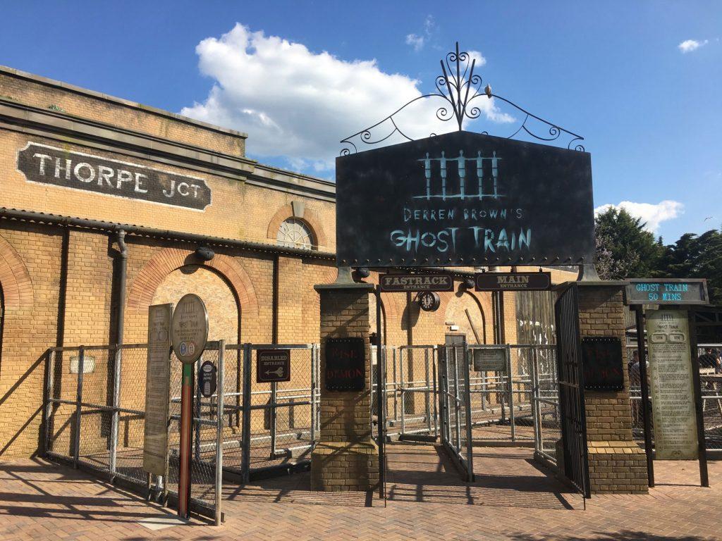 Derren Brown Ride — Thorpe Park
